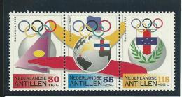 ANTILLES NEERLANDAISES: **, N°926A, Triptique, TB - Curacao, Netherlands Antilles, Aruba