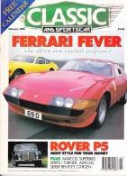 CLASSIC AND SPORTSCAR - FEBRUARY 1995 - ROVER P5 - Trasporti