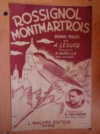 ROSSIGNOL MONTMARTROIS  LEDUCQ  PRUD HOMME - Scores & Partitions