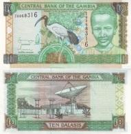 GAMBIA  10 DALASIS ND (2001-2005)  KM#21C  PLANCHA/UNC   T-DL-3566 - Gambia