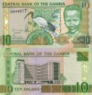 GAMBIA  10 DALASIS ND (2006-2013)  KM#26(1)  PLANCHA/UNC   T-DL-11.724 - Gambia