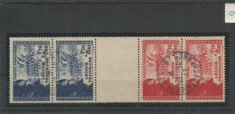 Frankrijk Gebruikt (USED) Yvert 565-566 Bande Complete - France