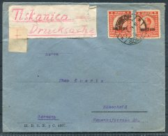 1920s Cover - Hohscheid, Germany - 1919-1929 Kingdom Of Serbs, Croats And Slovenes