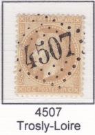 GC 4507 Sur 28 - Trosly-Loire (2 Aisne) - 1849-1876: Periodo Classico