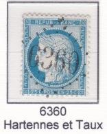 GC 6360 Sur 60 - Hartennes-et-Taux (2 Aisne) - 1849-1876: Periodo Classico