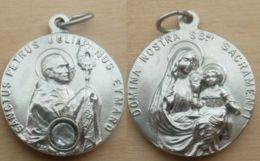 Mada-792 Médaille Domina Nostre SSmi SacramentiAu Dos Gravé Mod.déposé Sanctus Pétrus Julianus Eymard - Religion & Esotérisme