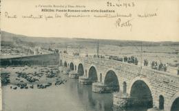 ES MERIDA / Puente Romano Sobre El Rio Guardiana / - Mérida