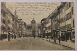 CPA Waldshut Hauptstrasse - Animé 1908 - MB01 - Waldshut-Tiengen