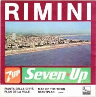 RIMINI -  MAPPA DELLA CITTA' - Carte Topografiche