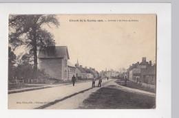 Cpa Circuit De La Sarthe 1906 Arrivée à SAINT ST MARS LA BRIERE Militaire  - Ed Cocu - France