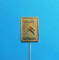 CITROEN - CIMOS ... Sloveniia Old Pin Badge France Car Automobile Automobil Auto Voiture Anstecknadel Distintivo - Citroën