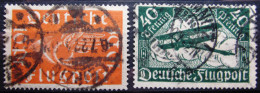 ALLEMAGNE EMPIRE                 PA 1/2                 OBLITERE - Airmail