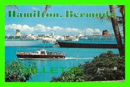BERMUDES - CRUISE SHIPS IN HAMILTON HARBOUR - PHOTO BY BOB GLANDER - - Bermudes