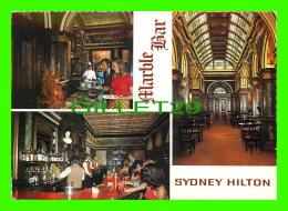 SYDNEY, AUSTRALIA - THE HILTON INTERNATIONAL SYDNEY HILTON - 3 MULTIVIEWS - MARBLE BAR - - Sydney