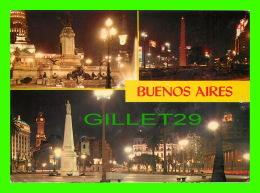 BUENOS AIRES, ARGENTINA - VISTA NOCTURNAS DEL CONGRESO - TRAVEL IN 1972 - - Argentine