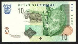 SOUTH AFRICA   : Banconota 10 Rand - P128 - 2005- FDS - Sudafrica