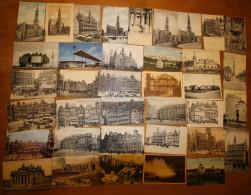 Bruxelles - Lot De 100 Cartes (animée, Précurseur, Tram, Trenkler, Expo,...voir Zie Scans) (lot 5) - Unclassified