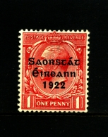 IRELAND/EIRE - 1922  1 D. FREE STATE  MINT  SG 53 - 1922-37 Stato Libero D'Irlanda