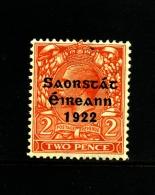 IRELAND/EIRE - 1922  2 D. FREE STATE  MINT  SG 55 - 1922-37 Stato Libero D'Irlanda