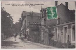 ILE D'OLERON : SAINT TROJAN LES BAINS - BAZAR DE LA PLAGE - 1913 - 2 SCANS - - Ile D'Oléron