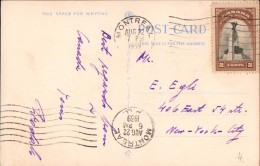 Carte Postale Canada 1939 Montreal Bureau De Poste Post Office - Brieven En Documenten