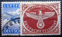 ALLEMAGNE EMPIRE                 FELDPOST  1/2              OBLITERE - Occupation 1938-45