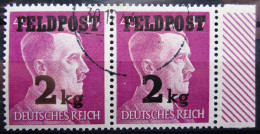 ALLEMAGNE EMPIRE                 FELDPOST  4               OBLITERE - Occupation 1938-45