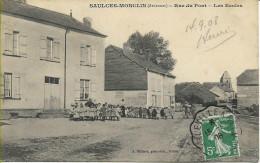 SAULCES-MONCLIN Rue Du Pont Les écoles - Other Municipalities