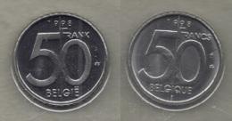 50 Frank 1998  Frans+vlaams * Uit Muntenset * FDC - 1993-...: Albert II