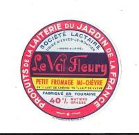 Le Val Fleury - Usine D'Esves-le-Moutier - Indre & Loire - Fabriqué En Touraine - Fromage