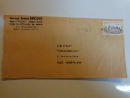 Enveloppe Sedoc Carte De Credit Esso Pour Garage James Eugene St Porchaire. - Autres