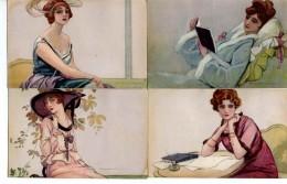 Illustrateur Dudovich, Femme X 6 N°93 - Illustrators & Photographers
