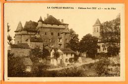 MBZ-19  Lacapelle-Marival. Non Circulé. Château Fort Vu De L'Est. Non Circulé - Lacapelle Marival