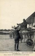94 VINCENNES Aviation Circuit Européen 1911 Farman Pilote Simon Très Animée - Vincennes