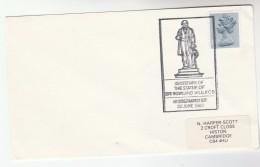 1981 GB Stamps COVER EVENT Pmk Illus ROWLAND HILL STATUTE At KIDDERMINSTER - 1952-.... (Elizabeth II)