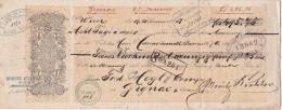 WIEN, VIENNE / AUTRICHE / MORITZ RICHTER  / 1881 / Timbre 25 C - Wissels
