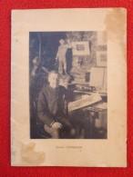 MARSEILLE JOSEPH CABASSON ARTISTE PEINTRE   13 PAGES état - Documents Historiques