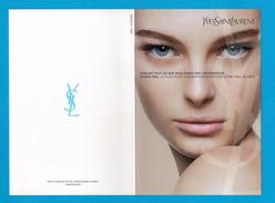 Carte Parfumées  Carte YVES SAINT LAURENT COSMETIQUE MAKE UP  HYDRA FEEL - Modern (vanaf 1961)