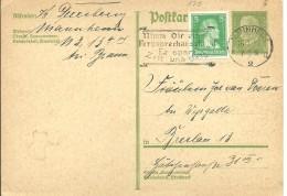 STATIONERY 1929 MANNHEIM - Germany