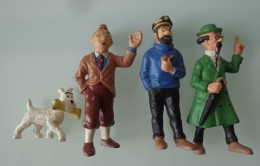 "Lots De 4 Figurines ""Tintin"" - Tintin"