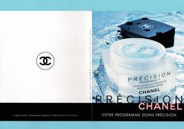 Cartes Parfumées Cartes CHANEL PROGRAMME SOINS PRÉCISION  De CHANEL - Perfume Cards