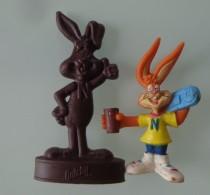 Lots De 2 Figurines Quieky De Nesquik Nestlé - Figurines