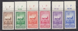 Luxemburg 1936 Meeting F.I.P. 6v +(margin) ** Mnh (27834) - Ongebruikt