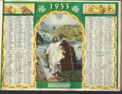 Rare Almanach  Complet Oller Des Facteurs  Des 36  Calendriers De  1955. - Calendriers