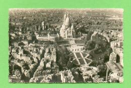 CPSM PM  FRANCE  75  ~  PARIS  ~  3516  En Avion Sur ... La Coliine De Montmartre ...   ( Leconte Dentellée 1959 ) - Paris (18)