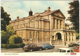 GB - Regno Unito - GREAT BRITAIN - 1985 - 22p + Flamme - Cheltenham - Town Hall - Viaggiata Da Cheltenham Per Veyrier... - Cheltenham