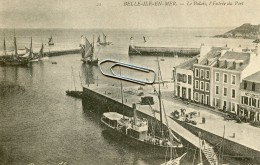 BELLE ILE EN MER -56- LE PALAIS L´ENTREE DU PORT - Belle Ile En Mer