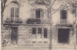 PARIS - Une Des Entrées De L´Ecole Du GENIE CIVIL - Avenue De Wagram  ( N´ A Pas Circulé ) - Formación, Escuelas Y Universidades