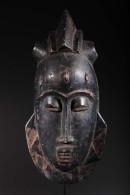 Masque De Famille Baoulé - Art Africain