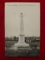 REIMS PARC DE LA HAUBETTE MONUMENT DE LA BATAILLE DE REIMS 1814 - Reims